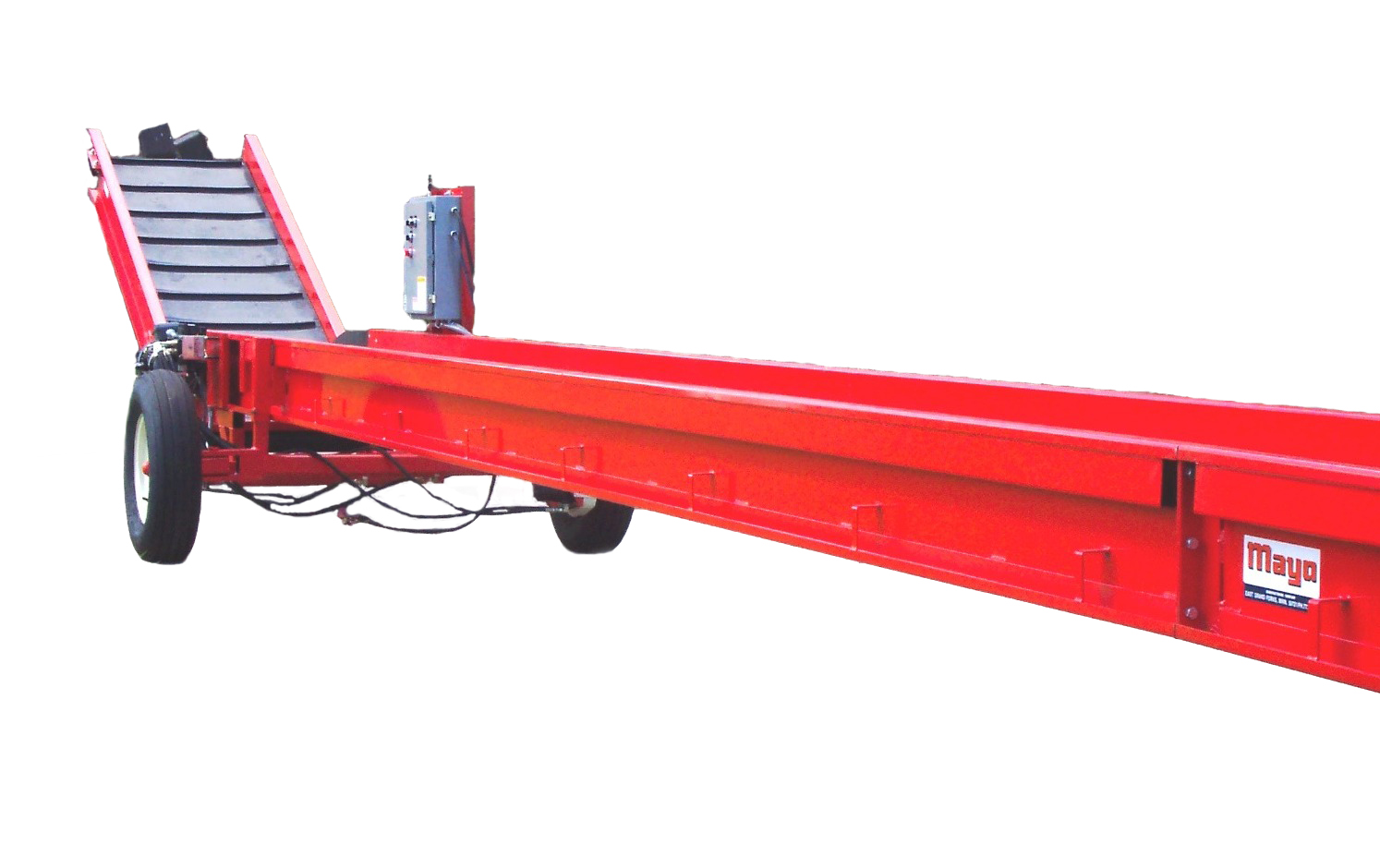 SEMI TRAILER AND CONTAINER LOADER